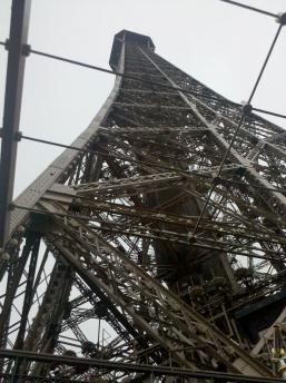 Eiffel Tower from the bottom