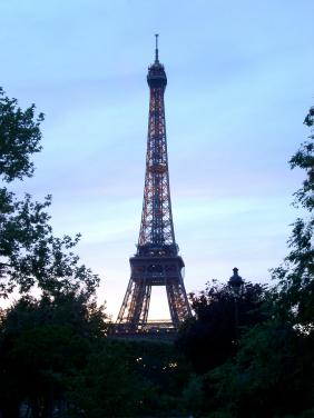 Eiffel Tower in the afternooon